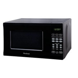 West Bend EM720CPI-PMB Microwave, 0.7 Cu.ft, Black