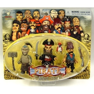 Pirate Mez Itz Figure Pack Of 3 Set C