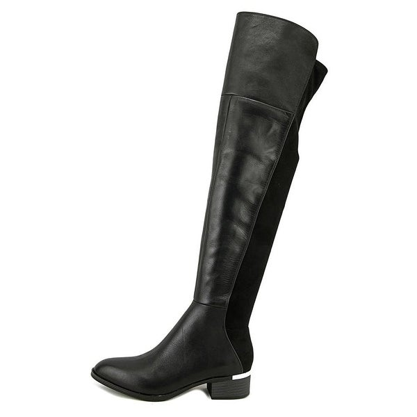 Bar III Womens Rene Pointed Toe Over Knee Fashion Boots