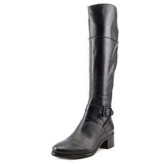 Pour La Victoire Shae Pointed Toe Leather Knee High Boot