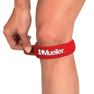 Mueller Jumper's Knee Strap - Red|https://ak1.ostkcdn.com/images/products/is/images/direct/154afbef0877181099bb8391f4657309e3287c09/Mueller-Jumper%27s-Knee-Strap---Red.jpg?impolicy=medium