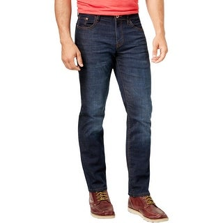 Weatherproof Vintage Mens Straight Leg Jeans Casual Denim - 33/30