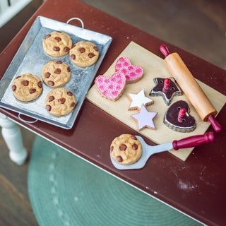 """Link to 18"""" Doll Food Accessory,16 Pc Authentic Cookie Baking Set with Cookies about Baking Tools, Compatible For Use With American Girl Similar Items in Dolls & Dollhouses"""