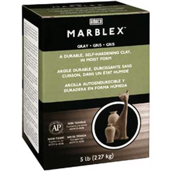Gray - Marblex Self-Hardening Clay 5Lb