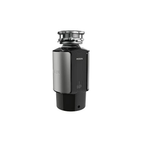 Moen GX100C GX 1 HP Continuous Garbage Disposal with SoundSHIELD - Stainless Steel