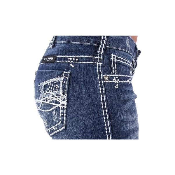 Women/'s Cowgirl Tuff Jeans-Angie