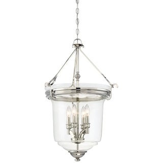 minka lavery 4 light pendant from the point collection - Minka Lighting