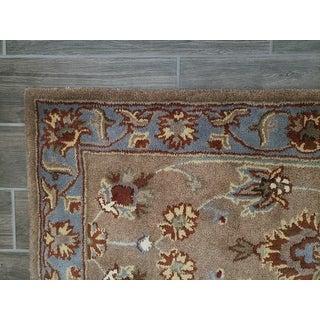 Safavieh Handmade Heritage Timeless Traditional Brown/ Blue Wool Rug
