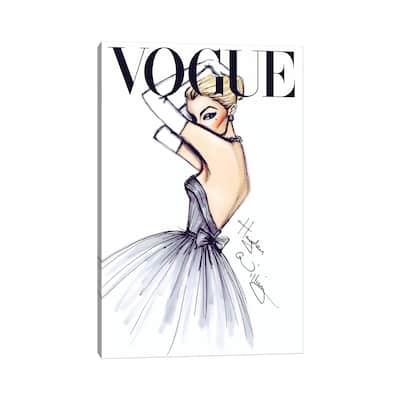 """iCanvas """"J'adore Vogue"""" by Hayden Williams Canvas Print"""