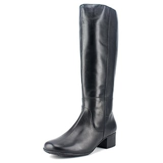 Elites by Walking Cradles Mix WW Round Toe Leather Knee High Boot