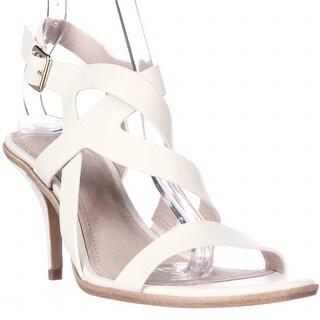 Pour La Victoire Maura Strappy Dress Sandals, Cream