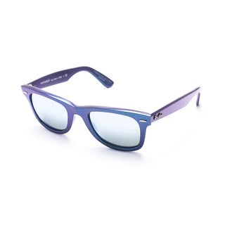 Ray-Ban Cosmo Wayfarer Sunglasses Blue - Small