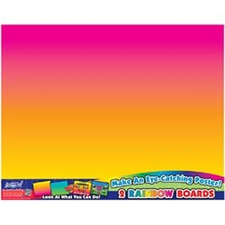 "Rainbow Boards Posterboards 22""X28"" 2/Pkg-"