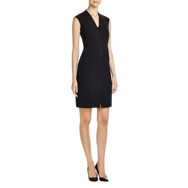 Shop Lafayette 148 Womens Christy Wear To Work Dress Zip Front