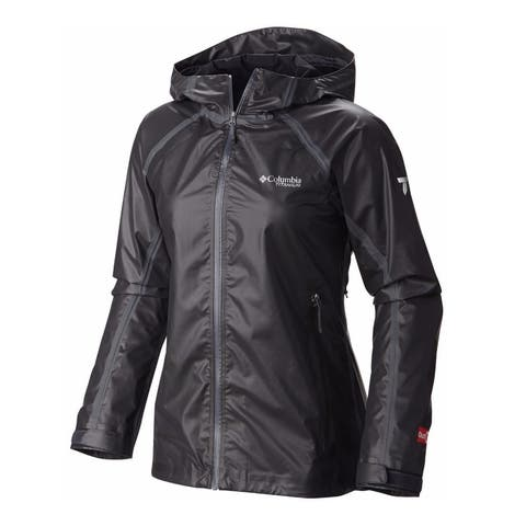 Columbia Titanium Women's Outdry Ex Gold Tech Shell Jacket, Waterproof Breathable
