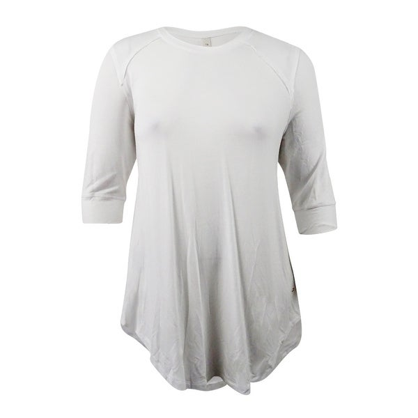 7ee36d969 Shop Melissa McCarthy Seven7 Women's Plus Size High-Low T-Shirt (1X, Off  White) - Off White - 1x - Free Shipping On Orders Over $45 - Overstock -  21358449