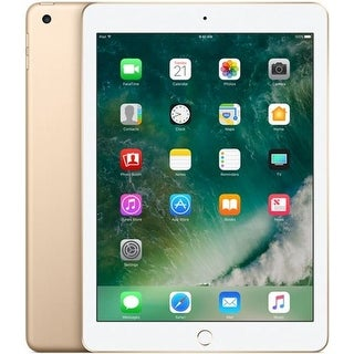 "Apple 9.7"" iPad (2017, 32GB, Wi-Fi Only, Gold) [MPGT2LL/A]"