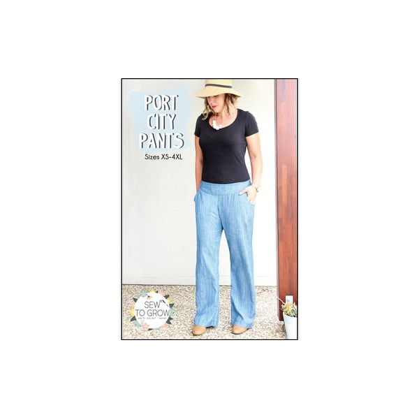 Sew to Grow Port City Pants XS-4XL Ptrn