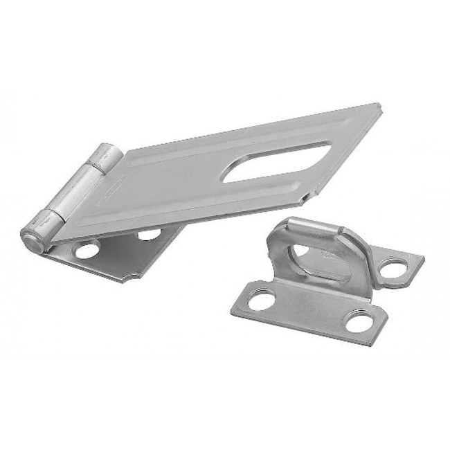 National Hardware N102-384 Safety Hasp, 4-1/2, Zinc Plated
