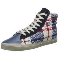 KIM&ZOZI Women's Plaid Fashion Sneaker