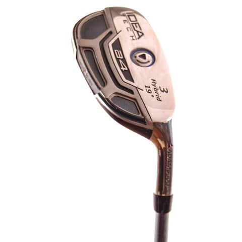 Adams Idea Tech A4 Hybrid #3 19* Bassara 55 x5ct Stiff Flex Graphite RH
