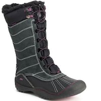JBU Womens Longview Closed Toe Mid-Calf Cold Weather Boots