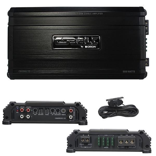 Orion Cobalt D Class Amplifier 2500 Watts MAX @ 1 ohm