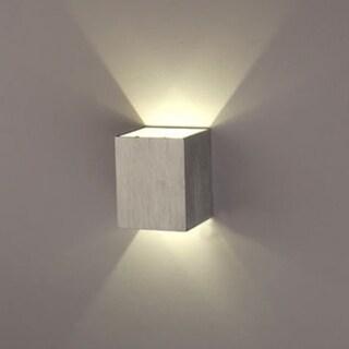 AGPtEK Indoor Energy Saving LED Soft Light Wall Lamp for Hallway Walkway Living Room Bedroom Hall Porch White