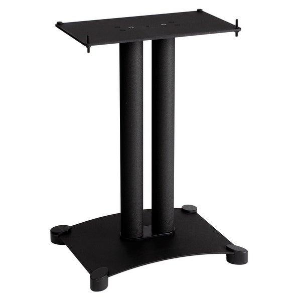 """Sanus SFC22 Steel Series 22"""" Speaker Stand - Each (Black)"""