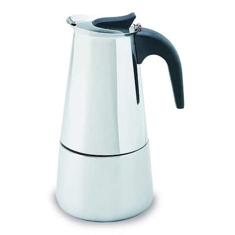 IMUSA B120-22062M 6-Cup Stainless Steel Espresso Coffeemaker