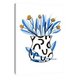 "PTM Images 9-108694  PTM Canvas Collection 10"" x 8"" - ""Flowerpot 2"" Giclee Flowers Art Print on Canvas"