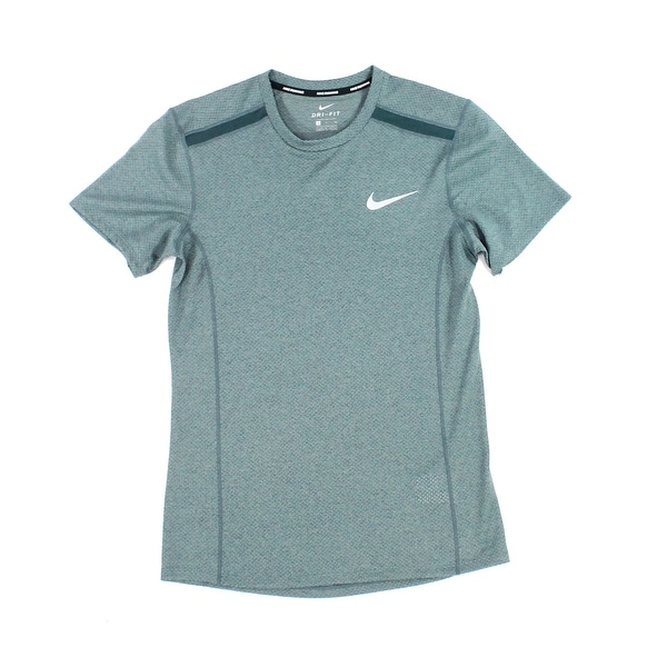 c946d8970 Shop Nike Green Mens Size Small S Dri Fit Running Graphic Tee T-Shirt - On  Sale - Free Shipping On Orders Over $45 - Overstock - 27914586