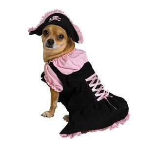 Pink Pirate Pet Halloween Costume Large