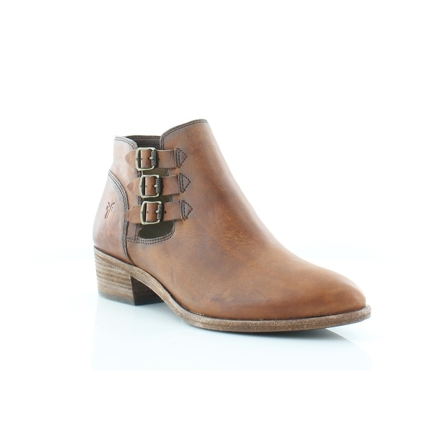 Frye Ray Women's Boots Cognac - 7.5