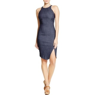 Elizabeth and James Womens Party Dress Sleeveless Asymmetric - 8