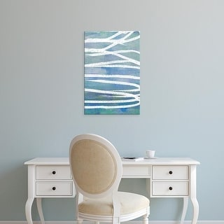 Easy Art Prints Jennifer Goldberger's 'Pastel Gradient II' Premium Canvas Art