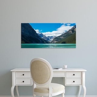 Easy Art Prints Panoramic Images's 'Canadian Rockies, Lake Louise, Banff National Park, Alberta, Canada' Canvas Art