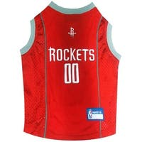 NBA Houston Rockets Pet Jersey