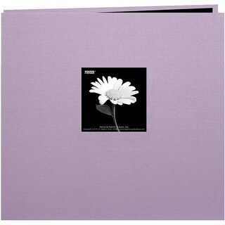 Pioneer Book Cloth Cover Postbound Album With Window 8 x 8 Inch