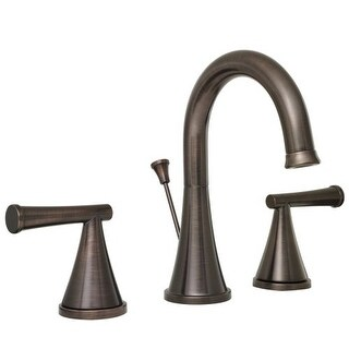 ProFlo PFWS2860 Widespread Bathroom Faucet with Pop-Up Drain Assembly