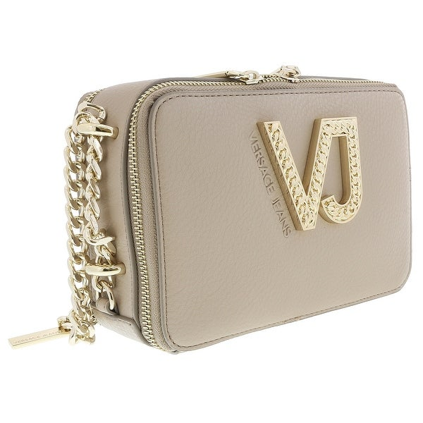 7db9689937 Shop Versace EE1VRBBC2 Beige Shoulder Bag - 8-5-4 - Free Shipping ...