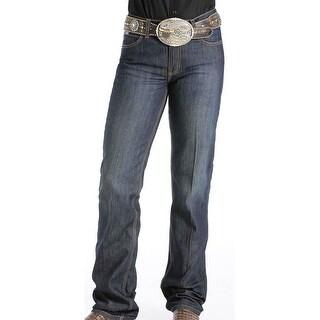 Cinch Western Denim Jeans Womens Jenna Slim Stretch Dark MJ80153071