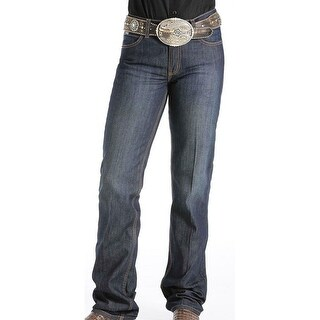 Cinch Western Denim Jeans Womens Jenna Slim Stretch Dark MJ80153071