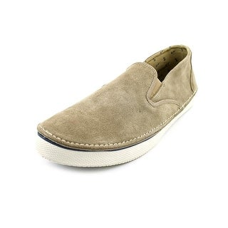 Sperry Top Sider Cruz S/O Men Round Toe Suede Brown Loafer