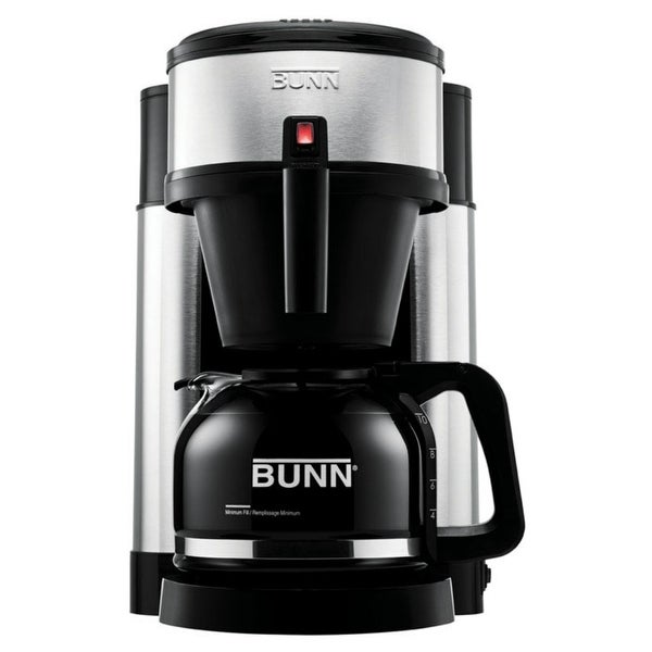 Bunn 44900.0000 NHS Velocity Brew 10-cup Home Coffee Brewer, Stainless Steel