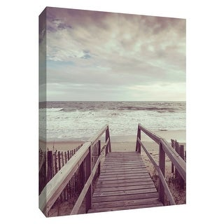 """PTM Images 9-148612  PTM Canvas Collection 10"""" x 8"""" - """"Break of Dawn"""" Giclee Beaches Art Print on Canvas"""