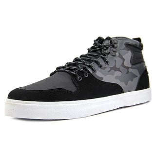 DVS Elm Round Toe Leather Sneakers
