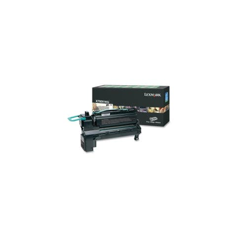 Lexmark X792X1KG Lexmark X792X1KG Extra High Yield Return Program Toner Cartridge - Black - Laser - 20000 Page - 1 Each