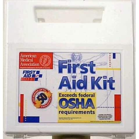 First Aid Only 225-U First Aid Kit 50 Person