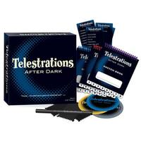 Telestrations After Dark Party Game - multi